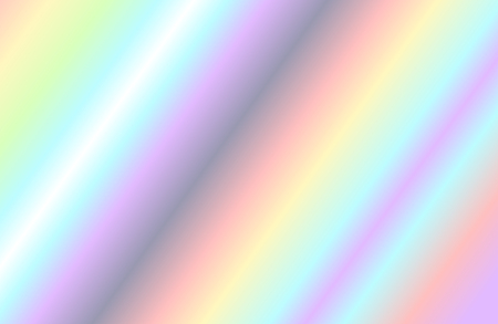 Holographic foil and iridescent rainbow texture background. Illustration