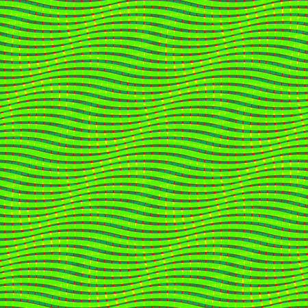 Snake print. Lizard skin seamless pattern. Op art background. Optical illusion of movement Ilustracja