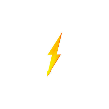 Flash and thunder bolt icon. High voltage and electricity symbol Standard-Bild - 120702180