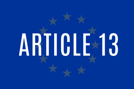 The European Copyright Directive, including Article 13 has been approved by members of the European Parliament.