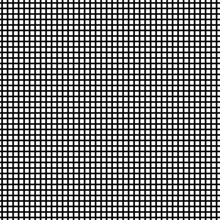 Grid optical illusion seamless pattern. Geometric background