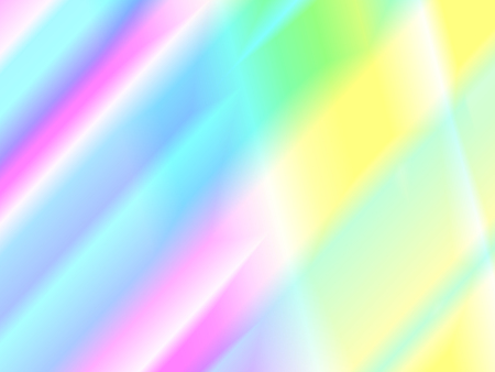 Disco background. Rainbow reflection and light beams texture