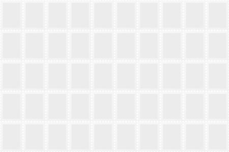 Blank postage stamps sheet. Seamless postal background Archivio Fotografico - 128027177