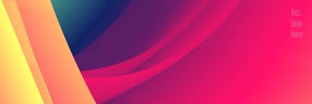 Abstract background with fluid color flow and liquid energy and power waves