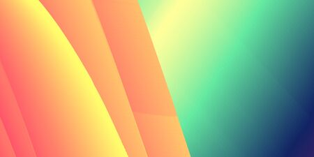 Abstract liquid color flow background. Modern colour wave banner