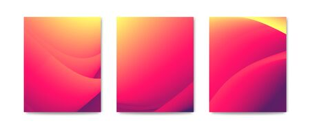 Abstract gynecology medicine background. Modern fluid waves banner