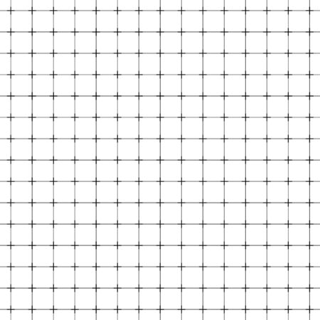 Seamless millimeter graph paper with a geometric square grid
