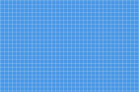 Ruled paper with a squared geometric grid