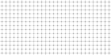 Lined paper with a seamless squared grid