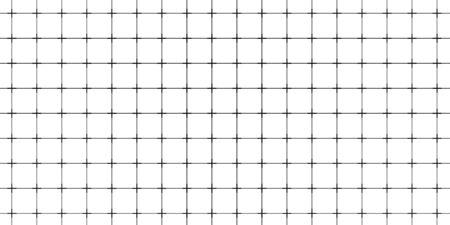 Square geometric grid pattern. Millimetric plotter paper Çizim