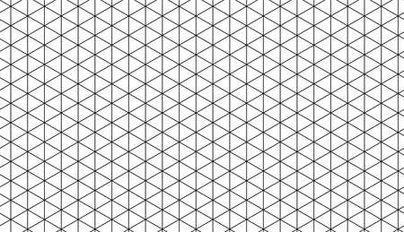 Ruled paper with a isometric geometric grid