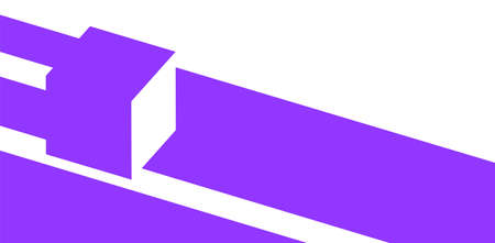 3d isometric cube. Abstract background layout with negative space composition