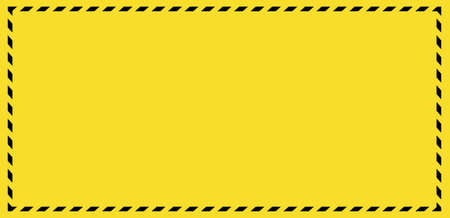 Barricade tape background. Panoramic barrier web banner