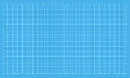 Self healing cutting mat. Cut board for blueprints and measuring Illusztráció