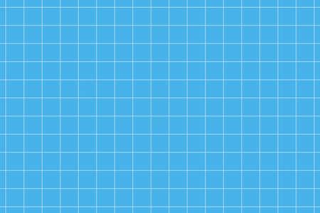 Square geometric grid pattern. Millimetric plotter paper Ilustração