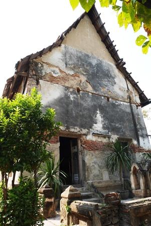 samutprakarn: The old ubosot Wat Bang Nam Pheung Nok, Samutprakarn, Thailand
