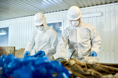 Waste Sorting on Recycling Plant