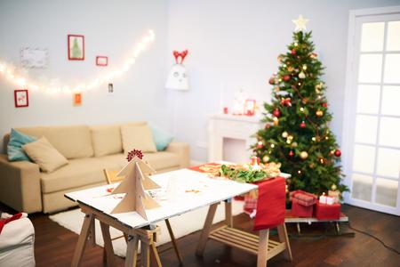 クリスマスのお祝いのための最後の準備