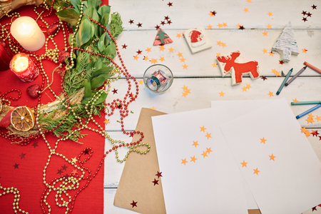 Making Handmade Decorations for Christmas