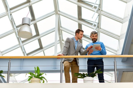 Business People in Modern Office Building
