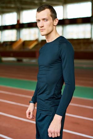 Portrait of Modern Sportsman