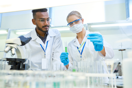Scientists Doing Research in Medical Laboratory