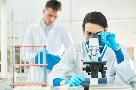 Working Process in Modern Laboratory