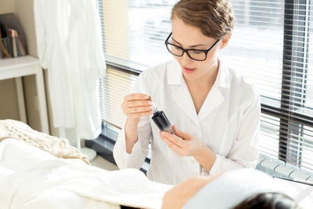 Carrying out Cosmetological Procedure