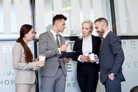 Business Team at Coffee Break
