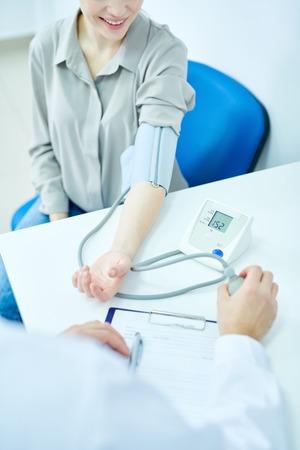 Blood Pressure Monitoring Foto de archivo