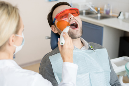 Laser Treating in Dentistry Clinic