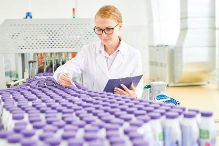 Checking Quality of Drinking Yogurts