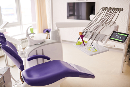 Dental Chair in Modern Clinic