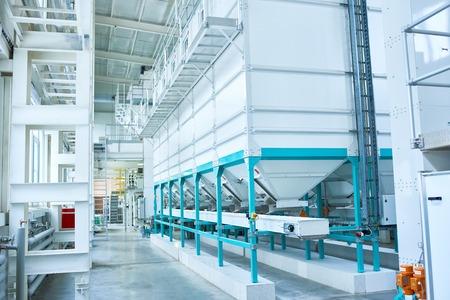 Modern Industrial Factory Imagens