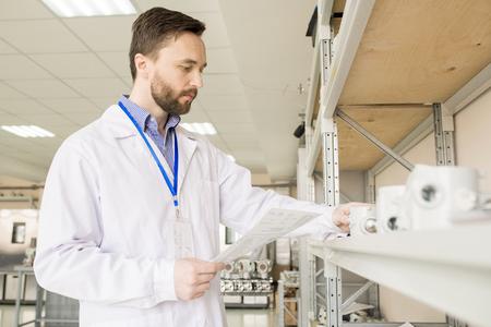 Examining Pressure Transducers at Factory Warehouse
