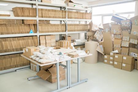 Interior of Factory Warehouse