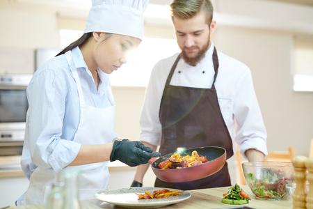 Asiatischer Su-Chef