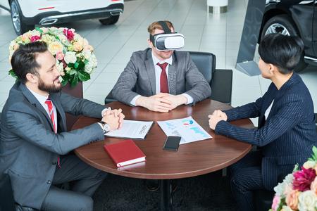 Virtual business meeting