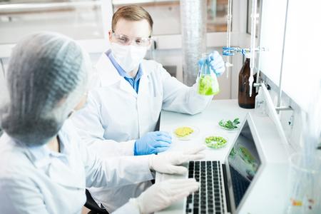 Bio Scientists in Laboratory