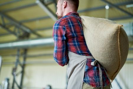 Modern Coffee Maker Carrying Bags Фото со стока