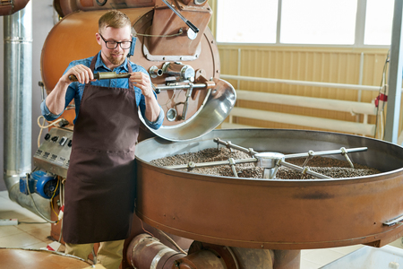 Café torréfaction artisanale moderne