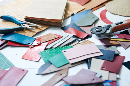 Working material for creating leather goods