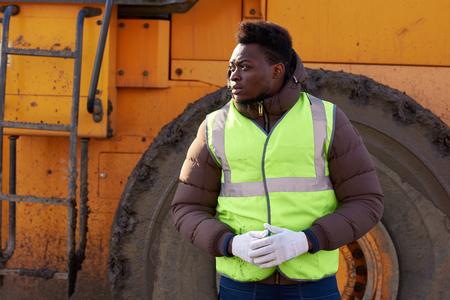 African-American Industrial Worker