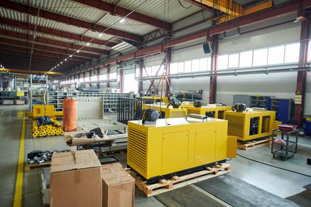 Production Workshop at Plant
