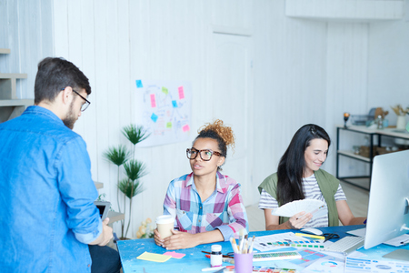 Creative Designers Team in Office