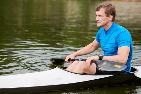 Water sport in summer