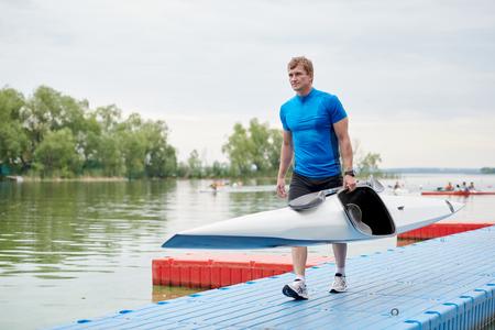 Kayaker finished training