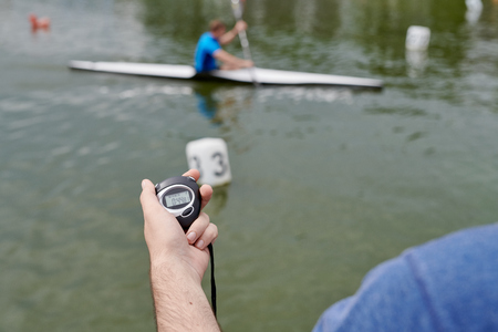 Training in kayaking sport