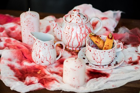 Bloody tea party