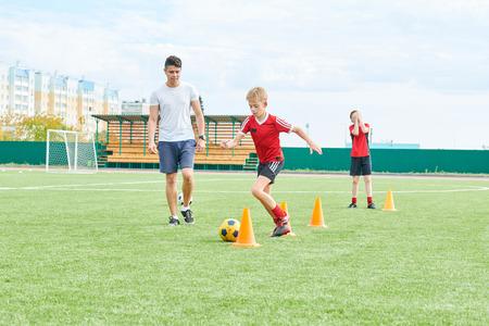 Entraîneur de l'équipe de football de formation